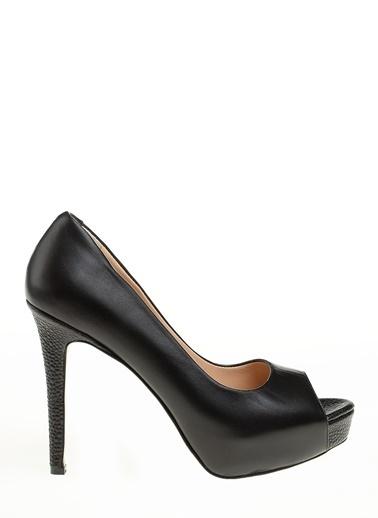 D by Divarese %100 Deri Klasik Ayakkabı Bej